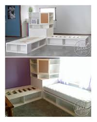 Twin Beds For Girls Www Hellojoandco Com Store It Corner Unit Corner Hutch And 2 Twin