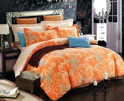 Orange Bed Sets Orange Duvet Covers Burnt Orange Duvet Sets Burnt Orange Duvet