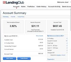 p2p lending lending club review follow up investcafe org