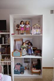 House Bookcase Ikea Besta American Sized Doll House And Toy Car Garage I