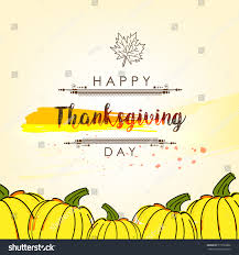 creative vector abstract happy thanksgiving day stock vector