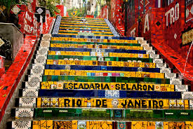 famous steps u2013 escadaria selaron ling ge photo
