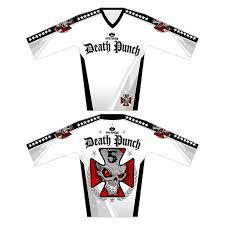 white motocross gear jerseys u2013 five finger death punch