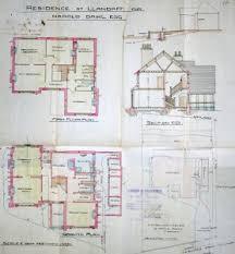 cardiff residence floor plan roald dahl and cardiff glamorgan archives
