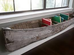 Boat Decor For Home by Decor Recessed Metal And Wood Bookcase For Home Decor Idea