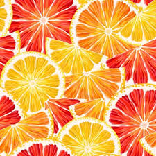 seamless lemon pattern lemon slices seamless pattern vector 01 vector food free download