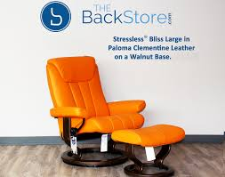 Recliner Chair Stressless Bliss Paloma Clementine Leather Recliner Chair By