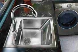 washing machine with built in sink cabinet mounted and freestanding laundry utility sinks made in