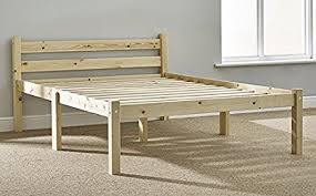 Solid Pine Bed Frame Pine Bed 4ft 6 Bed Frame Solid Pine Complete With Solid