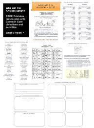 ancient egypt worksheet free lesson plan egyptabout