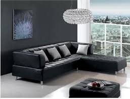 Black Leather Sofa With Chaise Black Leather Sofa Sets Inspiring Ideas For Living Room Hgnv