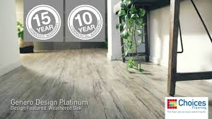 your flooring choices genero design platinum