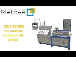 Relief Valve Test Bench Valve Test Bench For Control And Shut Off Valves Csv 50 200
