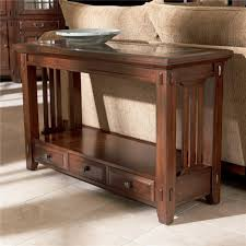 broyhill furniture vantana three drawer sofa table hudson u0027s