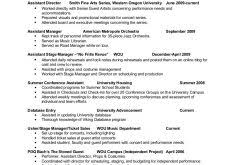Example Of A Resume For A Job by Download Examples Of A Resume Haadyaooverbayresort Com