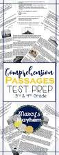 84 best short reading comprehension passages images on pinterest