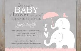 elephant baby shower invitations pink and gray elephant baby shower invitations baby shower