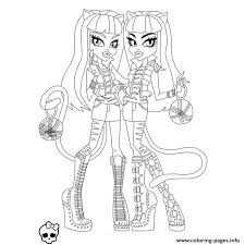 print monster meowlodie purrsephone coloring pages 2