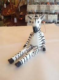zebra ornaments ebay