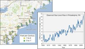 Map Of Northeast Region Of The United States by Northeast National Climate Assessment