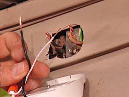 Installing A Bathroom Light Fixture by Install A Security Light How Tos Diy