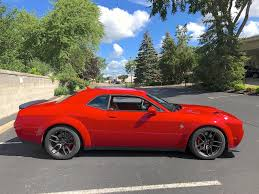 widebody hellcat colors 2018 dodge challenger hellcat widebody test drive review