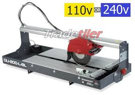 bench tile cutter rubi du 200l bl wet bridge saw electric tile cutter select