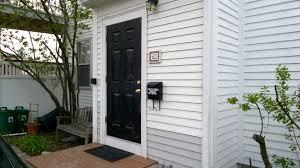 i painted our new front door black u2013 orbited by nine dark moons