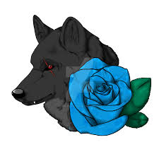 our blue rose tattoo by angelofwolves on deviantart