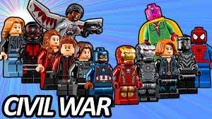 top 13 lego avengers minifigures in captain america civil war