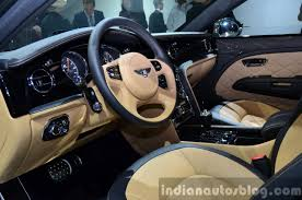 bentley mulsanne 2014 bentley mulsanne speed interior at the 2014 paris motor show
