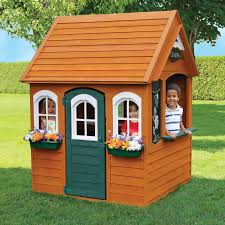kids outdoor wooden playhouse playhouses compare prices at nextag