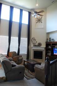 living room 2 story living room two story curtains living room