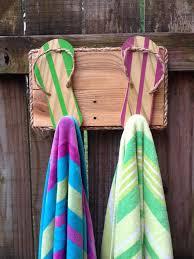 flip flop towel 88 best flip flop towel racks images on bathroom towel