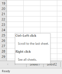 how to quickly switch to locate a worksheet in many worksheets