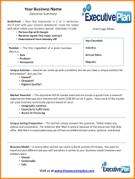 7 business plan executive summary example farmer resume vision and