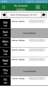 my walmart schedule android apps on google play