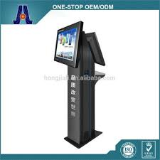 public dual screen cell phone charging station kiosk buy cell