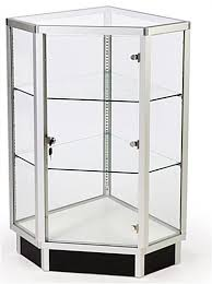 glass counter display cabinet store counter display wide glass corner cabinet