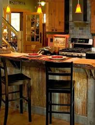 metal kitchen island corrugated metal island wi house kitchen
