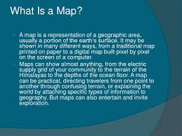 what is a map map reading