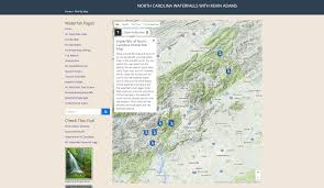 Oregon Waterfalls Map by Ultimate North Carolina Waterfall Road Trip Map Schoolhouse Falls