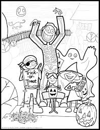 difficult halloween coloring pages aecost net aecost net