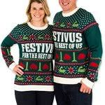 matching christmas sweaters for couples and family members