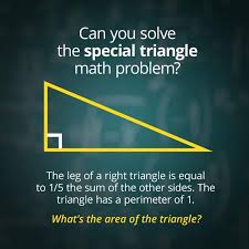 Math Problem Meme - can you solve the special right triangle math problem