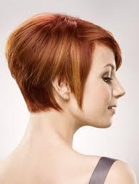 medium short auburn hair short haircut with various lengths and