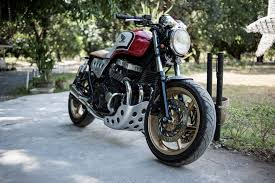 custom honda bike feature wild custom honda cb750 by carlo gabuco cafe racer