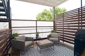 balcony privacy screen contemporary with landscaping coffee table