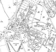 Surrey England Map by Epsom Hospital Cluster