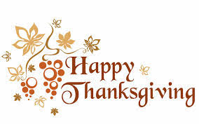 office and pre school will be closed in observance of thanksgiving